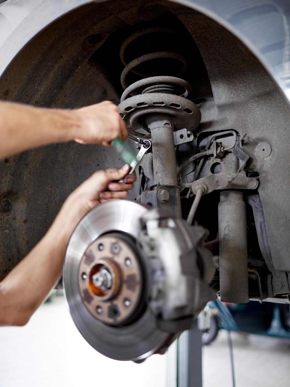 Car suspension repairs